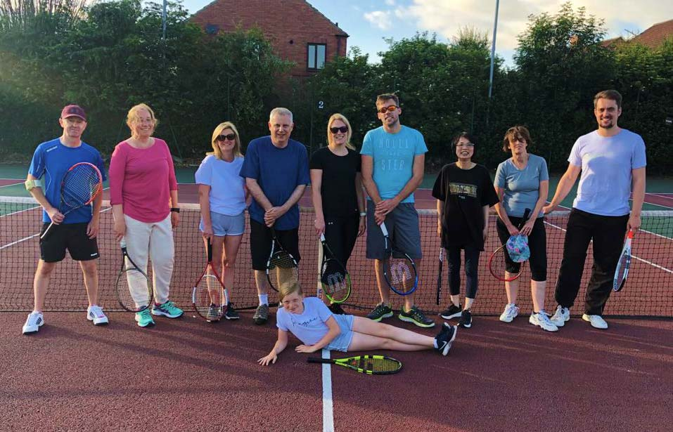 Riccall tennis club group