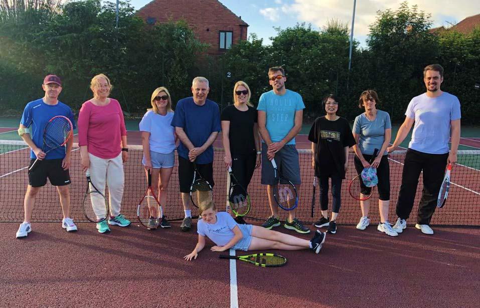 Riccall tennis club group